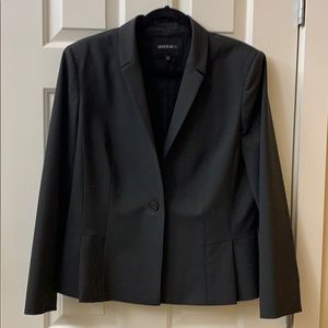 Lafayette 148 New York Wool Suiting Blazer Size 14